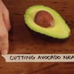 Cutting Avocado Neatly