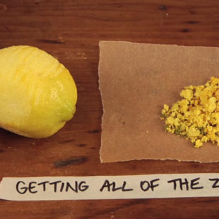 Getting All of the Zest