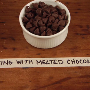 Writing With Melted Chocolate