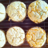 Fork-In-The-Road Savory Corn Muffins
