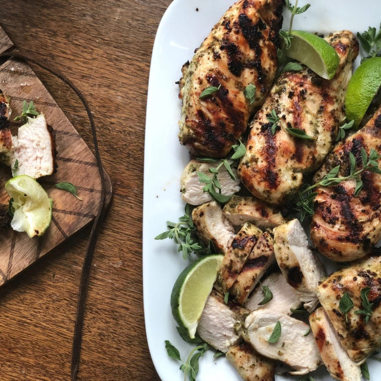 An Achingly Simple Herbed Chicken for the 4th of July / Katie Workman / themom100.com