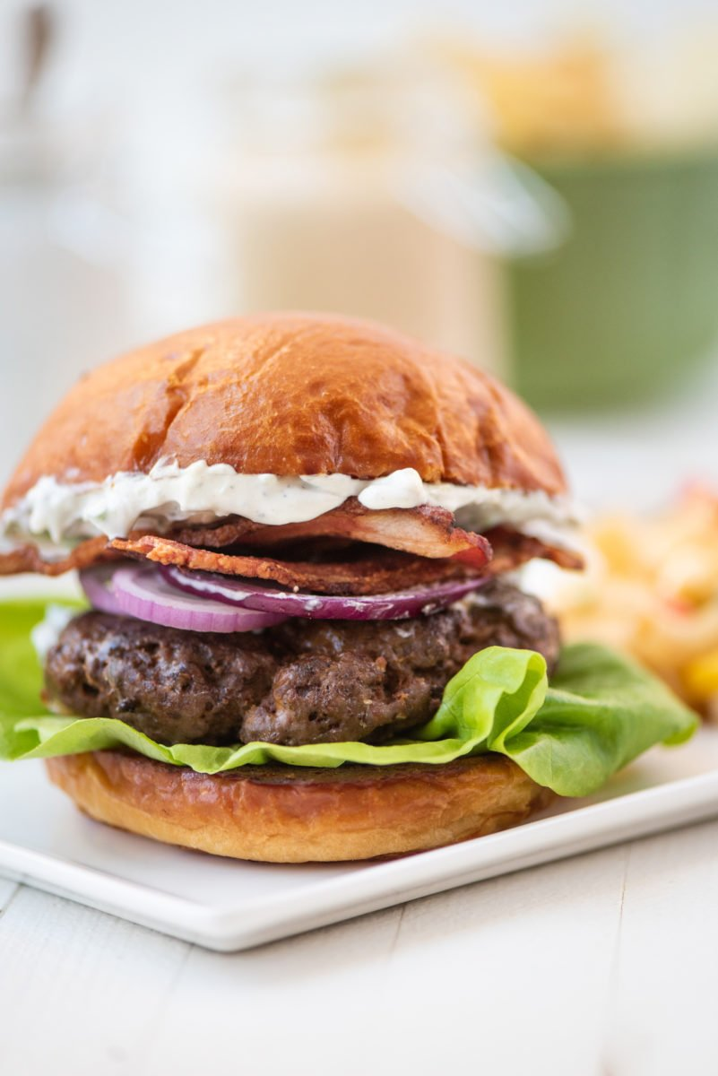 Fork-in-the-Road Burgers (with a Kick) / Cheyenne Cohen / Katie Workman / themom100.com