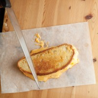 Fork-In-The-Road Great Grilled Cheese Sandwich