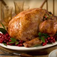 Cranberry Glaze Turkey