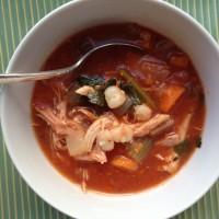 Turkey Posole Soup