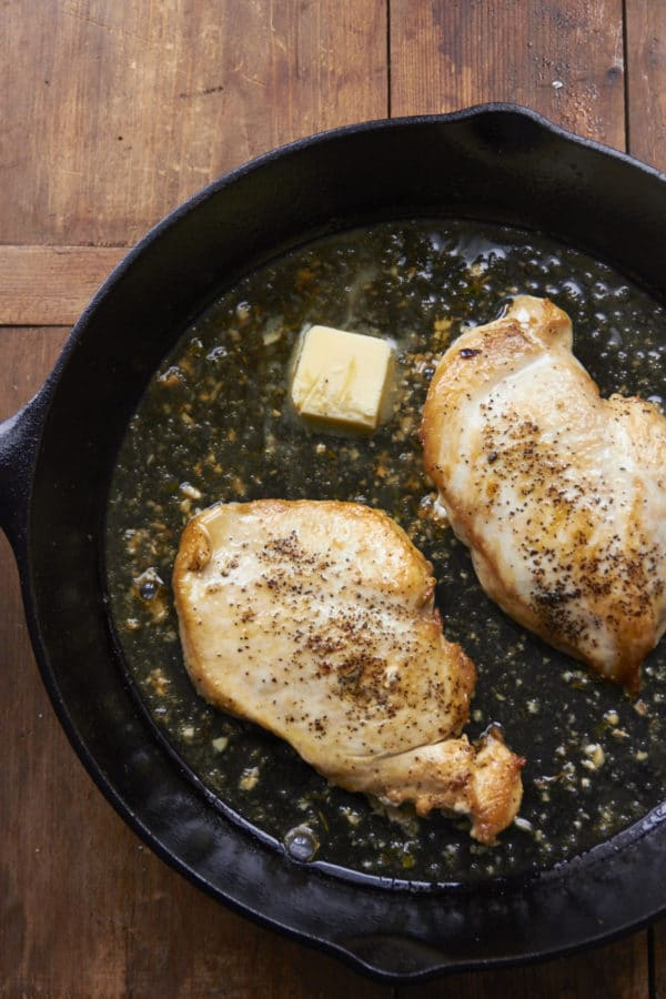 Pan Sauce Chicken / Mia / Katie Workman / themom100.com