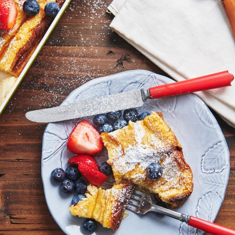 Lazy Oven French Toast