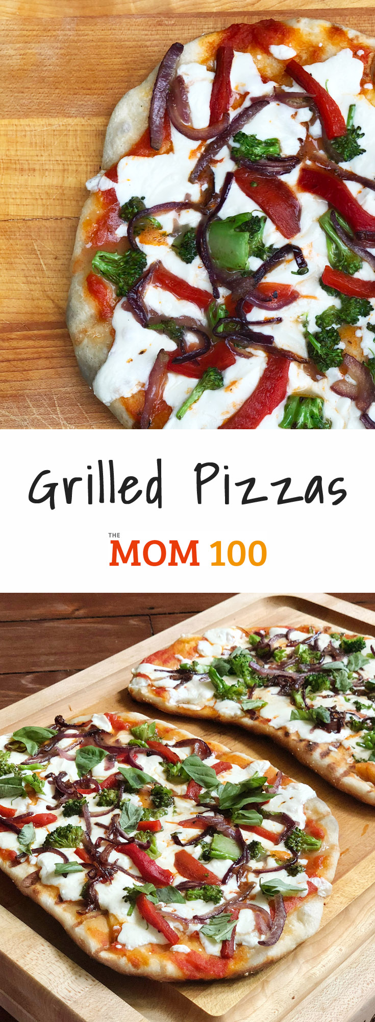 Grilled pizzas: If you want to make your kids' heads explode, pizza on the grill has the capacity to amaze and dazzle like few other dinners.