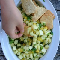 Pineapple Mint Jalapeno Salsa