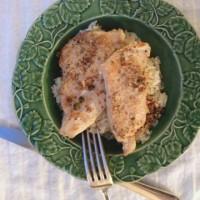 Green Peppercorn and Dijon Chicken Cutlets