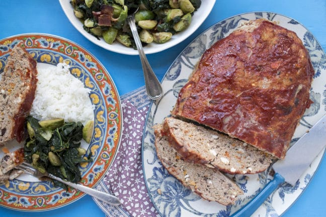 Greek Meatloaf / Luci Beni / Katie Workman / themom100.com