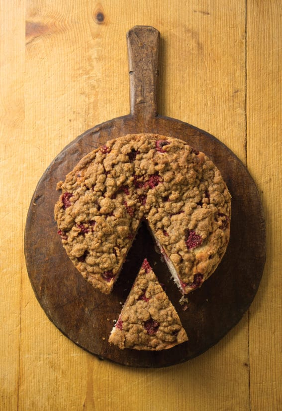 Berry Streusel Coffee Cake/Katie Workman/themom100.com/Todd Coleman