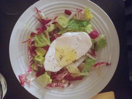 Endive, Radicchio and Mozzarella Salad