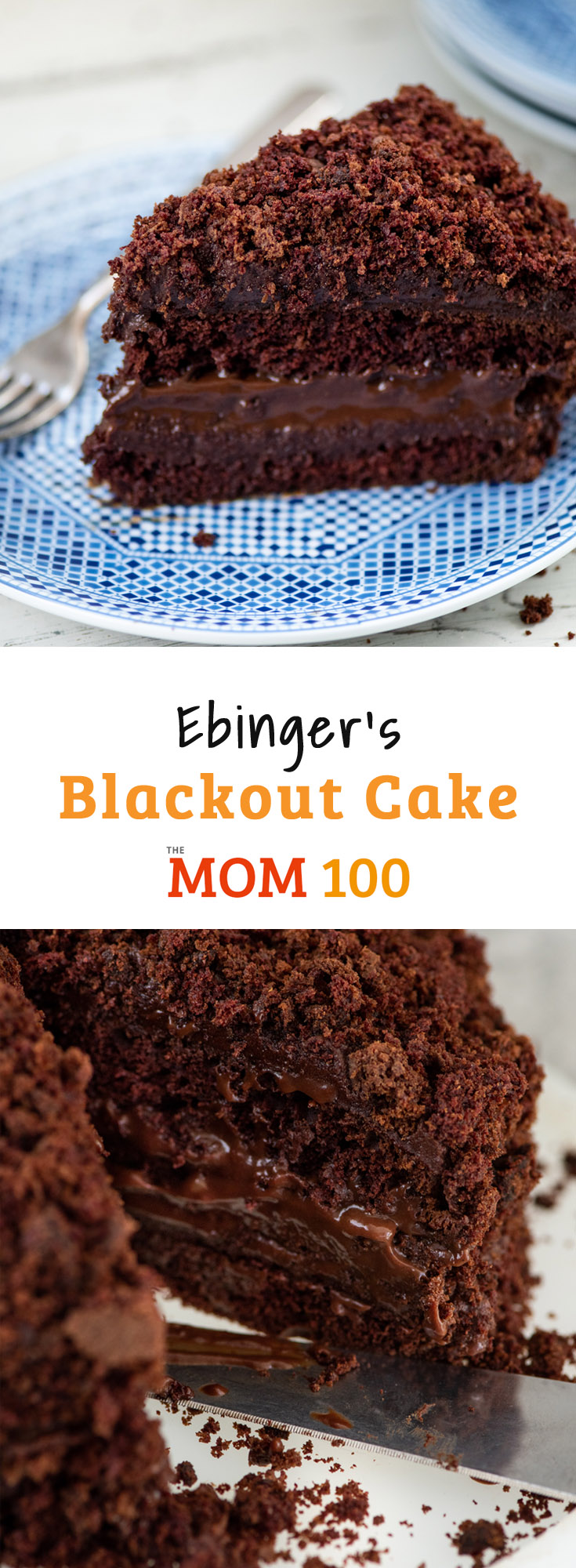Ebinger's Blackout Cake is the chocolatey, moist and legendary cake from the popular Brooklyn bakery that disappeared in 1972. Lives up to the hype!