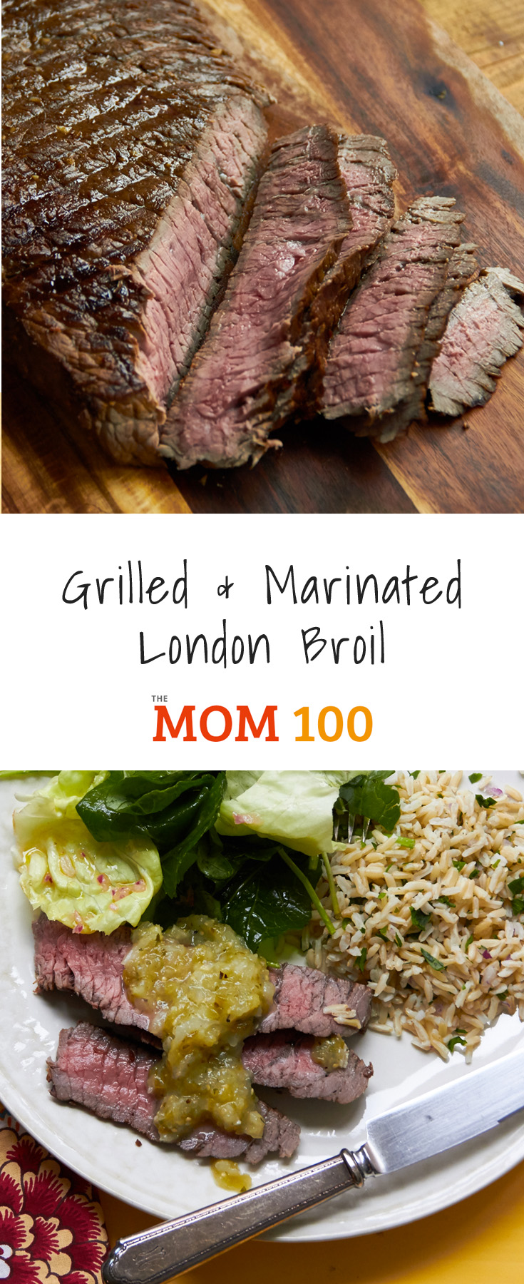 Once you make this Grilled and Marinated London Broil, you will definitely understand why London Broil is such a popular cut of meat, and such great bang for the buck.