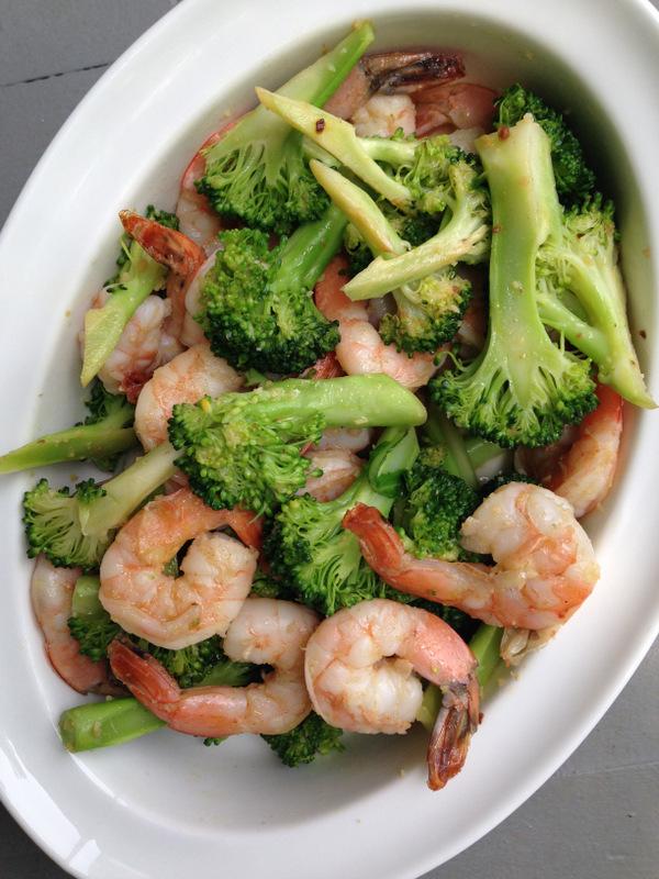 Garlicky Shrimp and Broccoli with Meyer Lemon – The Mom ...