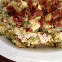 Egg and Potato Salad with Bacon