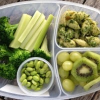 Pick a Color, Any Color: An All Green School Lunch