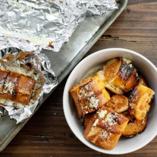 Roasted Garlic and Tomato Bread / Carrie Crow / Katie Workman / themom100.com