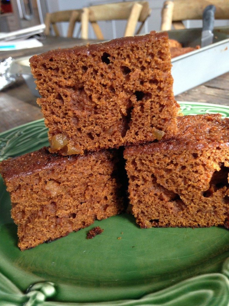 Stack of Pumpkin Gingerbread