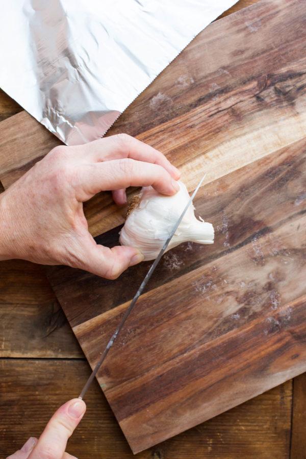 Roasted Garlic / Sarah Crowder / Katie Workman / themom100.com