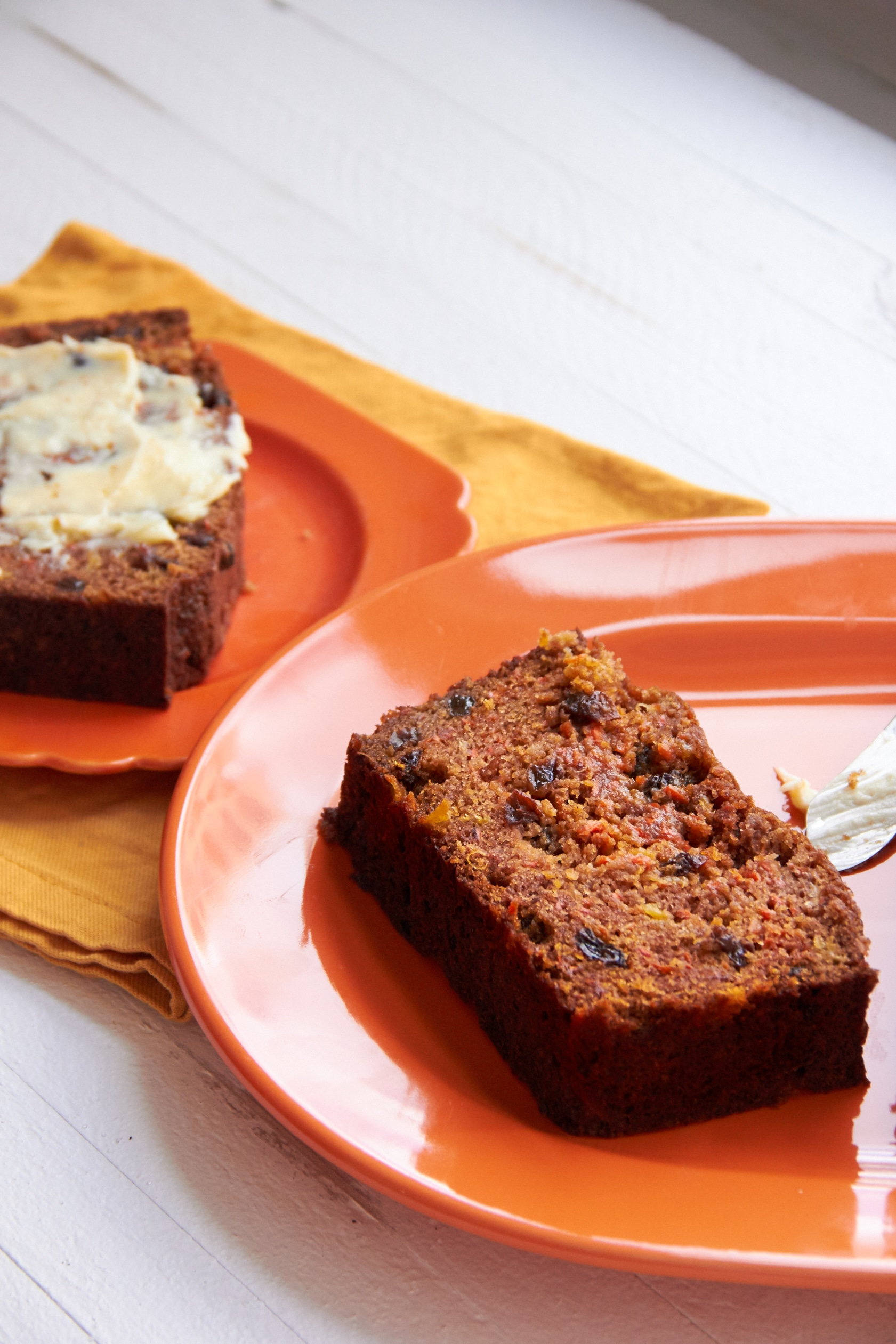 Carrot Cake Made With Honey