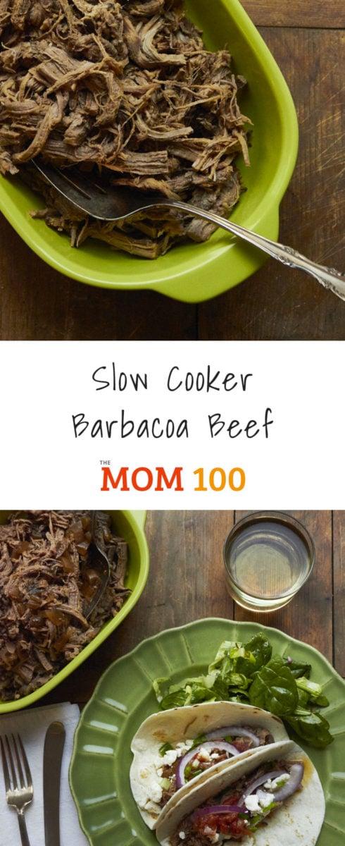 Slow Cooker Barbacoa Beef Tacos / Mia / Katie Workman / themom100.com