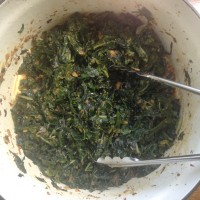 Clean and Spicy Asian Greens
