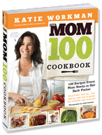 The Mom 100 Cookbook bookcover