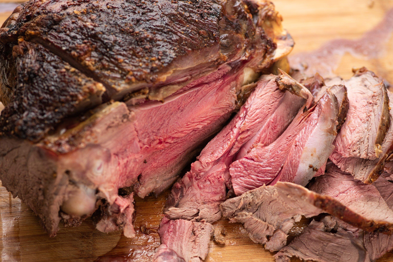 How long do you roast a 3 lb boneless leg of lamb