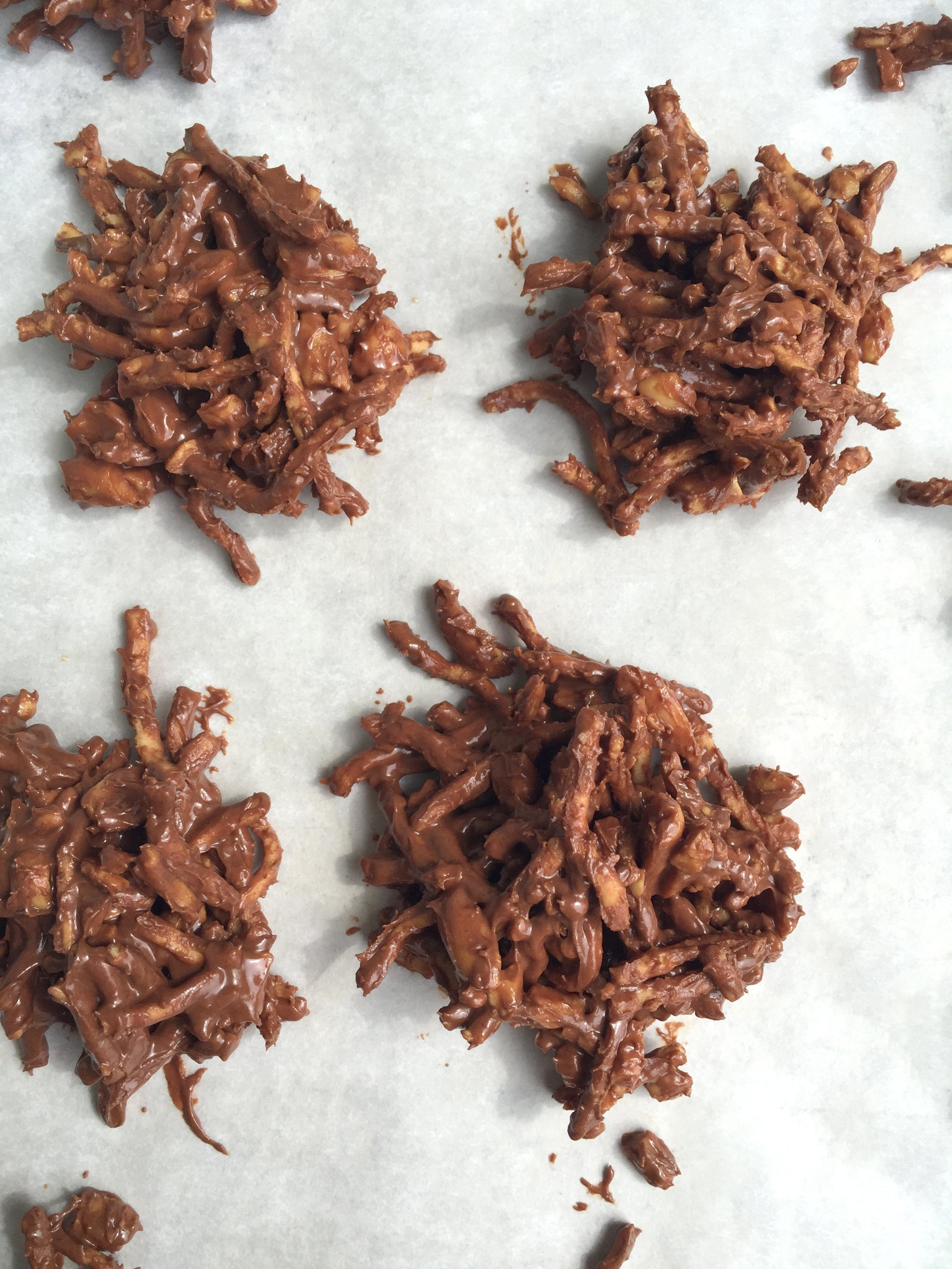 Cookie recipe called haystacks