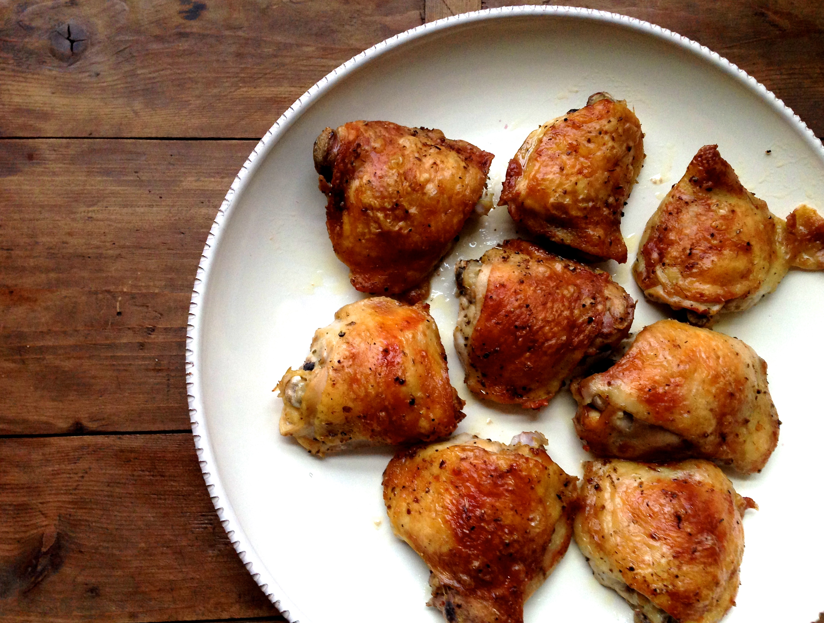 Greek Roasted Chicken Thighs – The Mom 100 The Mom 100
