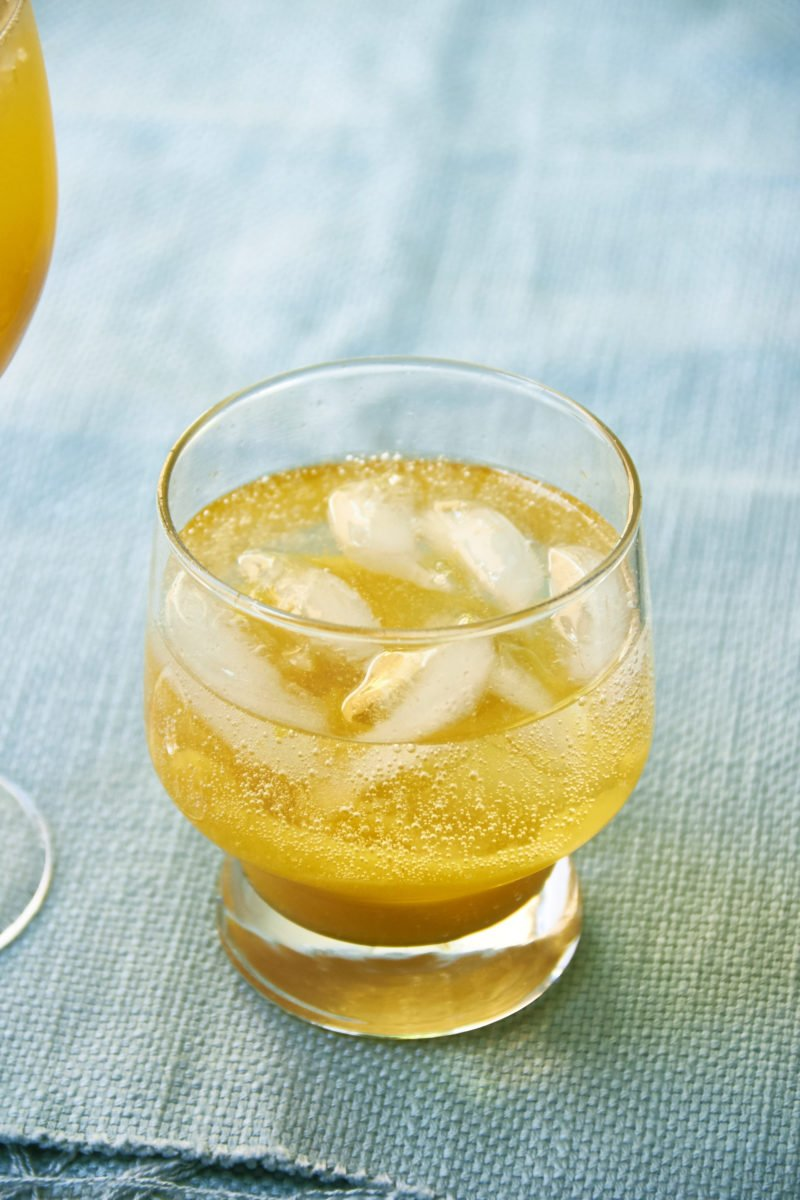 A Peach Cocktail and a Mocktail for Mixed Company / Mia / Katie Workman / themom100.com