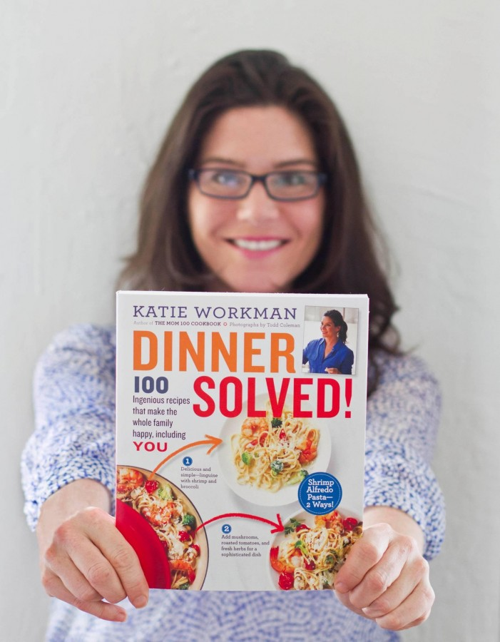 Katie Workman with Dinner Solved/ dinner solved preorder