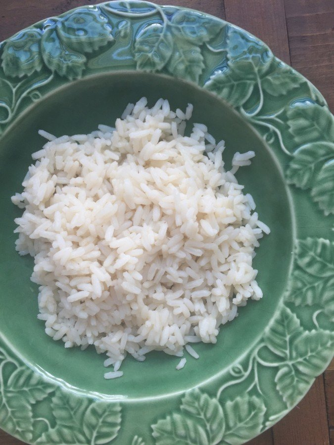 Bowl of perfect rice from Katie Workman/ themom100.com