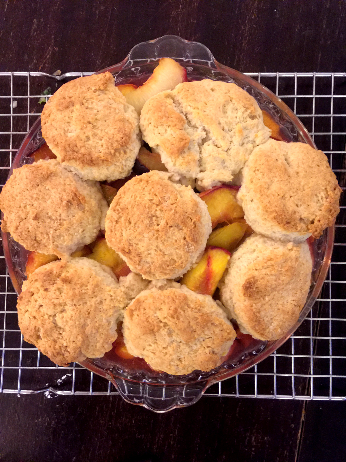 Sour Cream Biscuit Peach Cobbler – The Mom 100 The Mom 100
