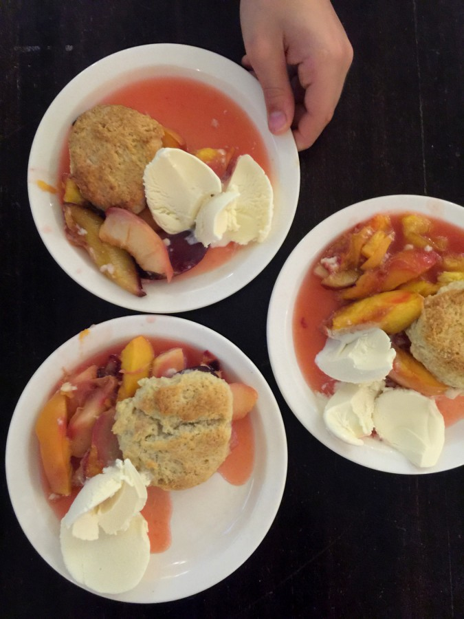 Peach Cobbler from Katie Workman/ themom100.com