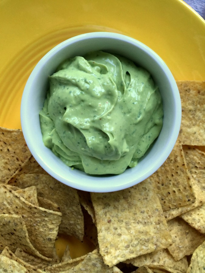 Creamy Avocado Dip from Katie Workman / themom100.com