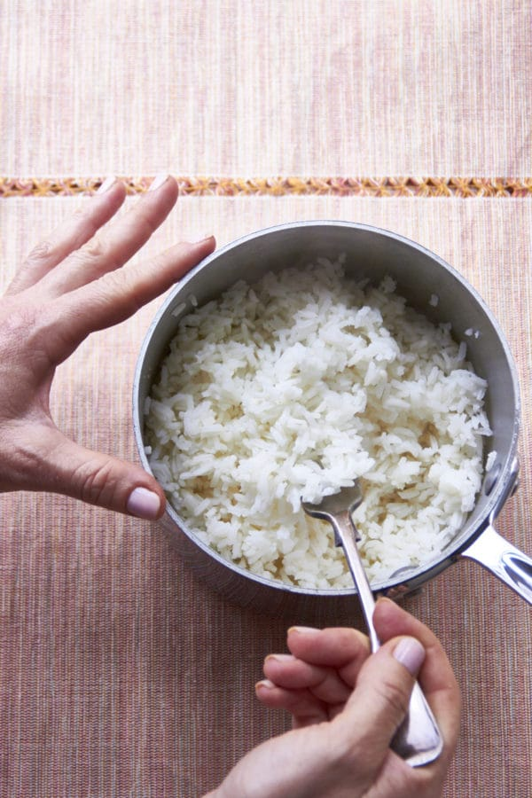How to Cook Perfect Rice on the Stove / Mia / Katie Workman / themom100.com
