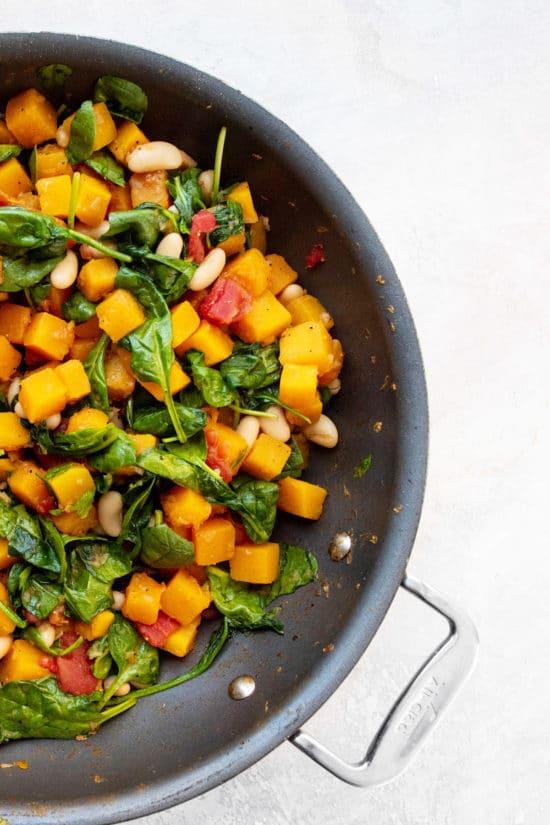 Butternut Squash and White Bean Ragout / Photo by Cheyenne Cohen / Katie Workman / themom100.com