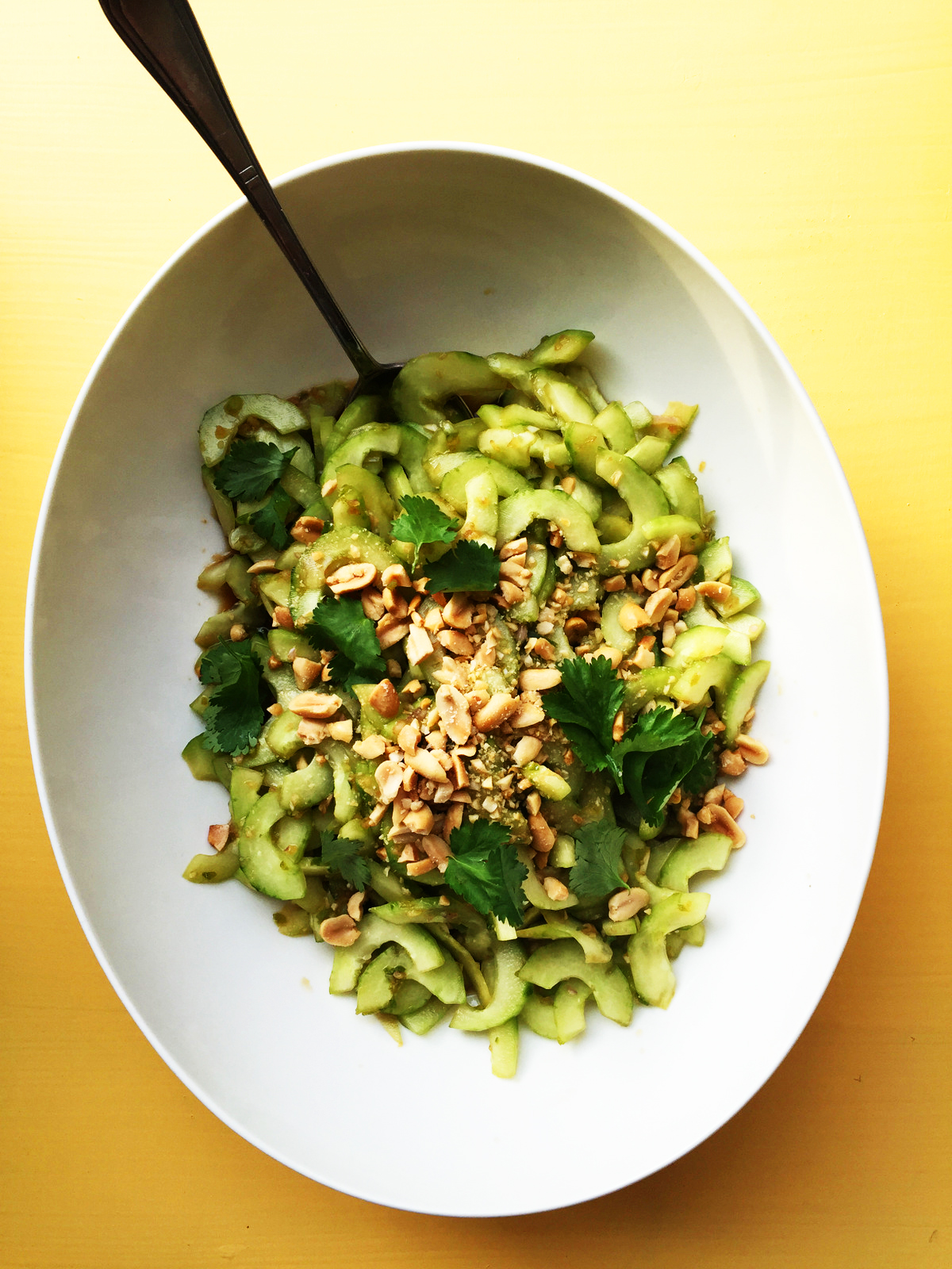 Thai Cucumber Salad from Katie Workman / themom100.com