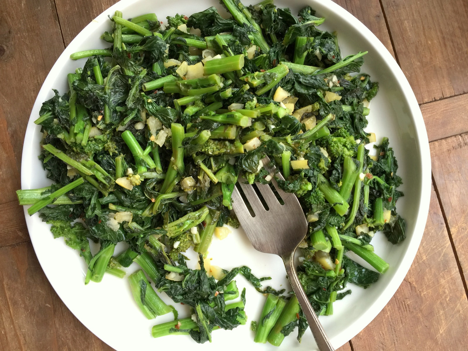 Sauteed Broccoli Rabe with Preserved Lemons from Katie Workman/ themom100.com