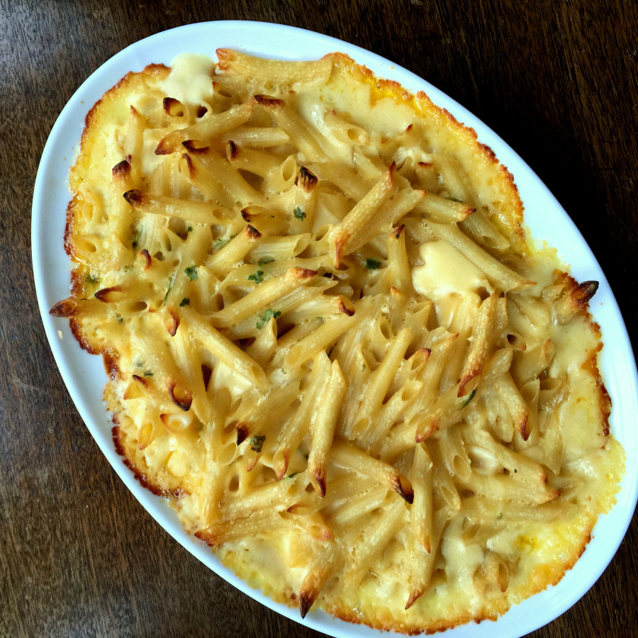 Creamy Four Cheese Penne Prigate by Katie Workman/ themom100.com