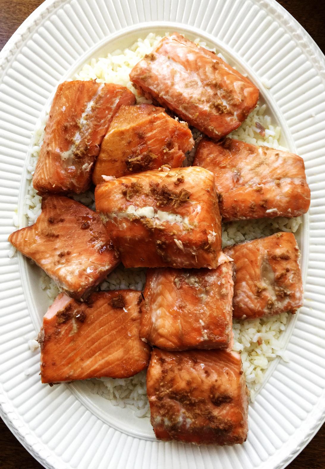 Thai Salmon from Katie Workman / themom100.com