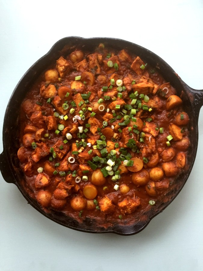 Chicken and Potato Curry / Katie Workman themom100
