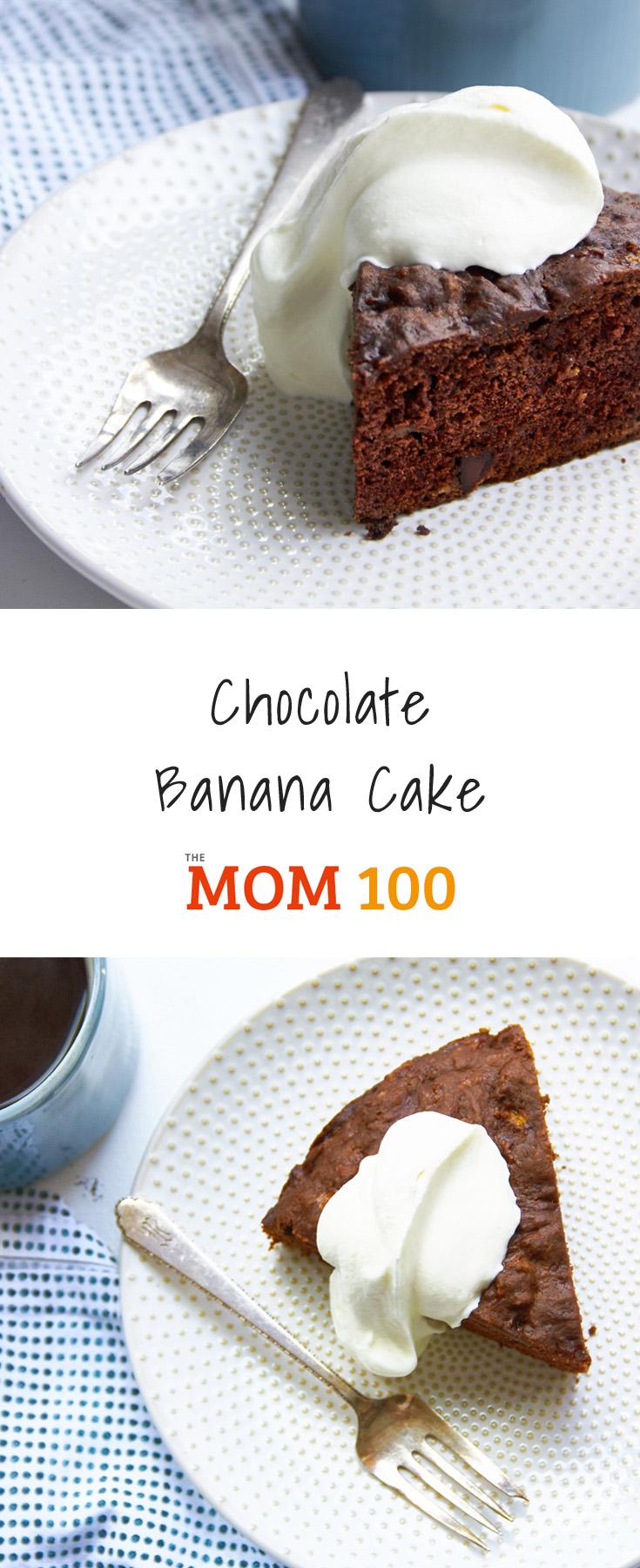 Chocolate banana cake the mom 100 the mom 100 chocolate banana cake forumfinder Choice Image