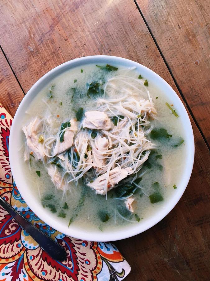 Thai Chicken Noodle Soup / Katie Workman themom100