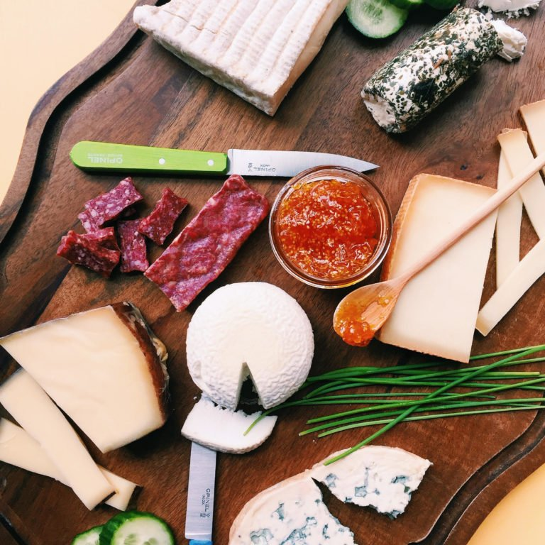 A Cheese Board for National Cheese Day / Katie Workman themom100.com