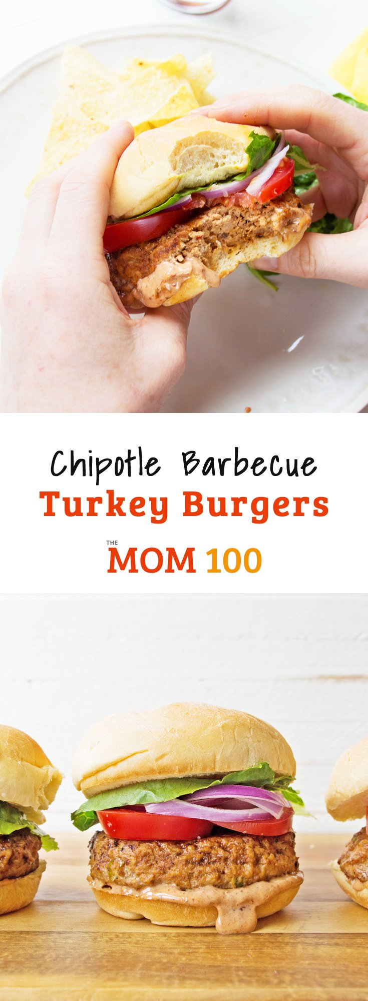 Chipotle Barbecue Turkey Burgers