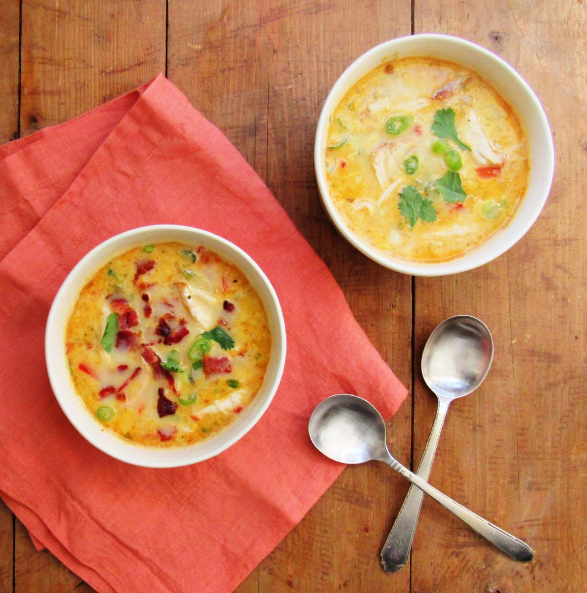 Chicken, Bacon and Corn Chowder / Laura Agra / Katie Workman / themom100.com